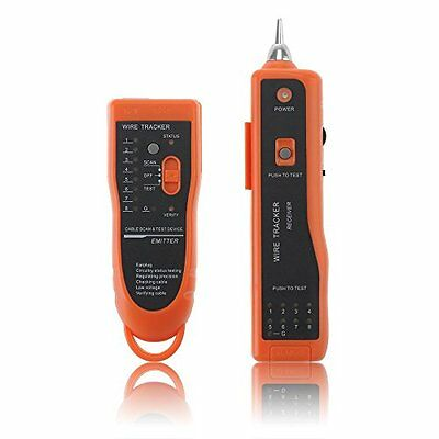 VicTsing® Telephone Wire Tracker Network LAN Ethernet BNC RJ45 RJ11 Cable Tester