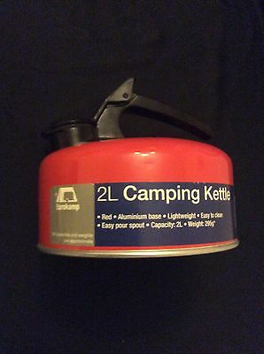 New Eurokamp Camping Kettle