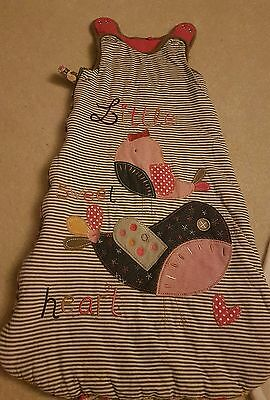 Girls warm sleeping bag 12-18 months