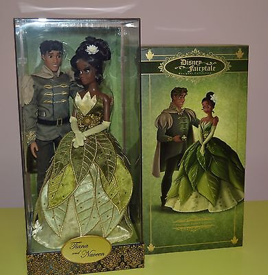 Disney Fairytale Designer Limited Edition-Tiana & Naveen doll set-