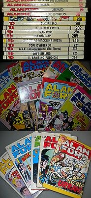 Lotto di 15 numeri di Alan Ford. (incluso il 200)