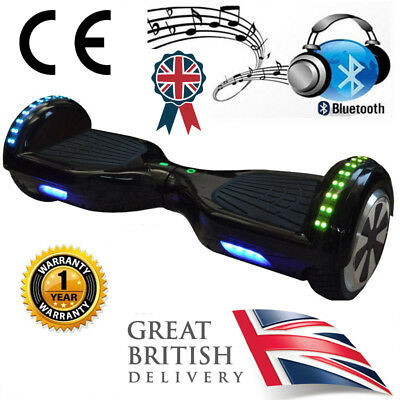 6.5 LED Swegway Hoverboard Balance Hover Board Bluetooth Speaker by NEXGBOARD®