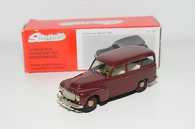 .. Somerville Models 128 Volvo 210 Duett Maroon Mint Boxed