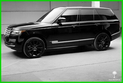 2013 Land Rover Range Rover Supercharged Autobiography 2013 Land Rover Range Rover Supercharged Autobiography 20,333 miles Warranty