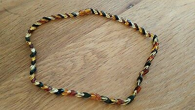 Ladies Natural Baltic sea amber neckless