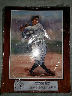 1998 Legends Of The Game Metal Sign - Lou Gehrig