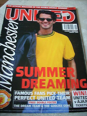 Manchester United Official Magazine Vol 4 No. 8 August 1996