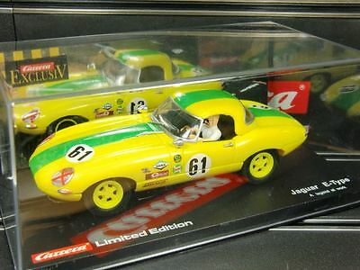 Carrera Exclusiv Jaguar E-Type '61 limited Edtion Nr.20488 TOP/OVP (F1238)