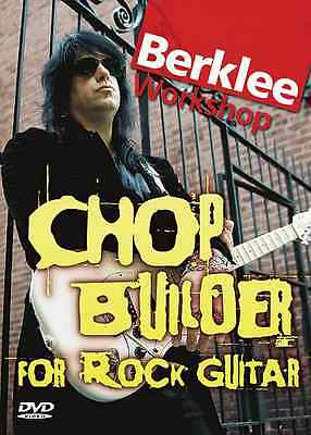 Joe Stump Chop Builder for Rock Guitar  Instructional DVD
