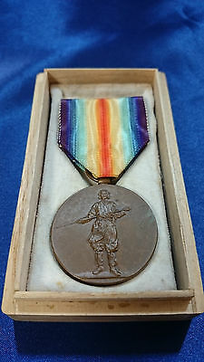 WWI JAPANESE Inter-Allied Victory Medal IMPERIAL VTG 1914-1920 WW1