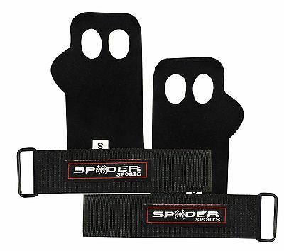 Leather Palm Grips Support Crossfit Gymnastics Palm Safety and Protection Gloves