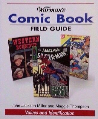 COMIC VALUE GUIDE COLLECTOR'S REFERENCE BOOK 20,000+ Listings Lots of Color Pics