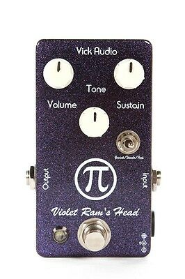 Vick Audio Violet Ram's Head Big Muff Fuzz Reproduction