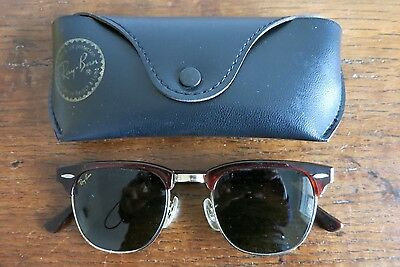 Vintage Ray-Ban Sunglasses With Case, Genuine.