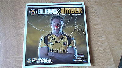 17.3.13 Castleford Tigers v London Broncos programme
