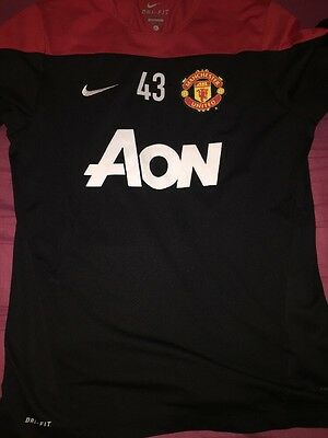 Nike Manchester United Player Issue Training Top #43 SIZE L Super RARE