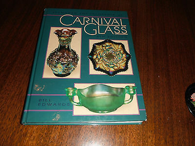 1994 Standard Encyclopedia of Carnival Glass Book HC 4th Edition Bill Edwards