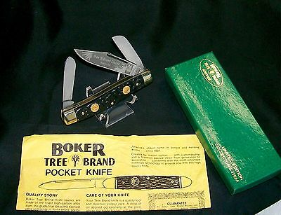 "Boker Wiss 6066 Knife Dual Shield Premium Stockman #05029 4"" Germany W/Packaging"