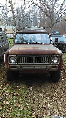 1975 International Harvester Scout station wagon 1975 international station wagon