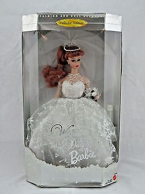 Wedding Day Barbie 1961 Fashion and Doll Reproduction 1996 New in Box Red Hair