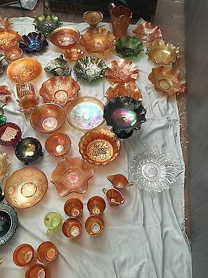 Selection of Carnival ware over 100 pieces - antique - pick up - cash only