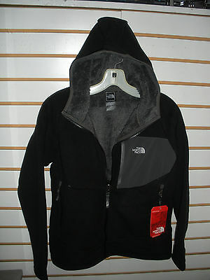 The North Face Boys Chimborazo Hoodie Fleece Jacket-A7As- S, L,xl- Tnf Black