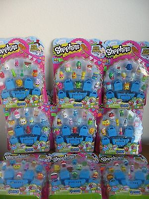 1 X SHOPKINS 12 Pack Season 1 Special Edition Frozen Inside Retired You Pick Set