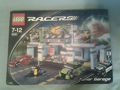 Lego 8681 Racers - Tuner Garage - Instruction Manual Only