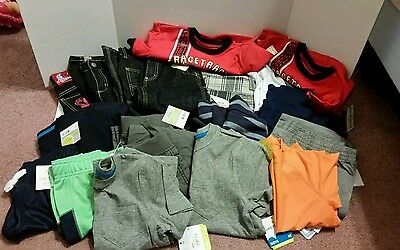 HUGE Twin Boy spring  LOT size 4t All NWT. OVER 20+ PIECES.
