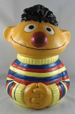Custom Made Vintage 1979 Seasame Street's Ernie Cookie Jar