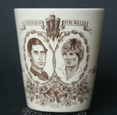 Royal Doulton Charles & Diana Wedding Commemorative Cup