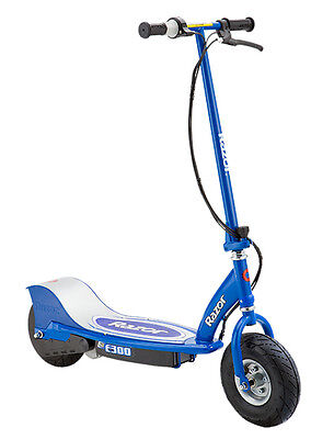 Razor E300 Electric Scooter - Blue- Hardly Used - Newtown