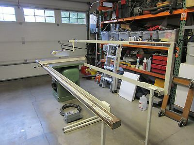 "General 350 10"" 3HP Tilting Arbor Table Saw Biesemeyer TSquare Fence Blade guard"