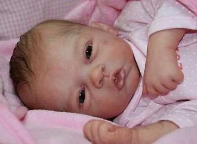 CUSTOM ORDER Elodie - Reborn Doll- Kit by Evelina Wosnjuk COMPLETE BABY JNB