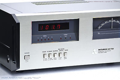 "MITSUBISHI DA-F20 High-End FM Stereo Tuner ""NEAR MINT"" Revidiert + 1J.Garantie!!"