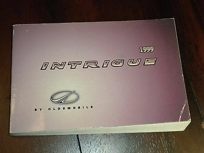 1999 Oldsmobile INTRIGUE factory GM owners manual (covers all models)