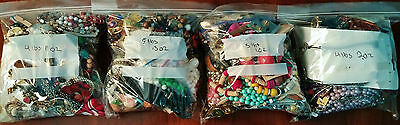 19 Plus Pounds Costume Jewelry Wear Repair Sell Crafts Lot 13