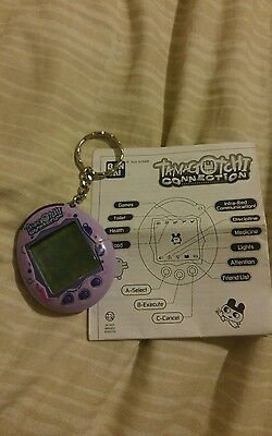 Tamagotchi Connection v2, Purple with Manual
