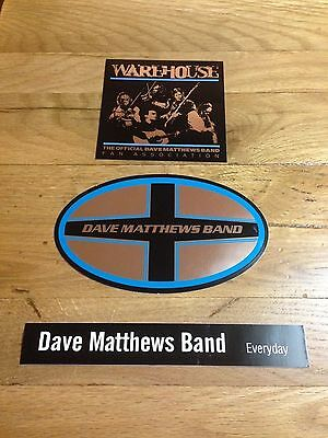 Dave Matthews Band Dmb Sticker Lot (3 Different Stickers)