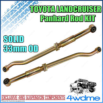 Toyota Landcruiser 80 105 Series 4WD Adjustable Front & Rear HD Panhard Rods