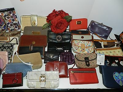 Wallet Lot Designer Wholesale- Coach Fossil Kors Dooney Brighton Lucky