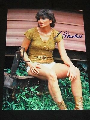Linda Ronstadt Rare Signed Photo with coa