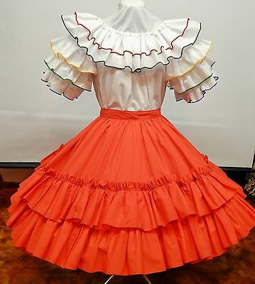 2 Piece Fancy Fashions And Red Square Dance Dress