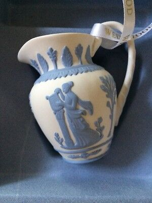 Wedgwood Jasperware Pitcher Christmas Ornament