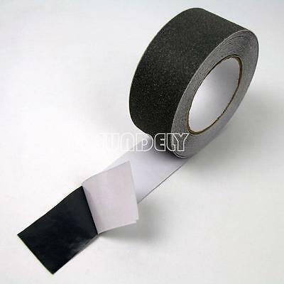 NEW! Gray 75mm Safety Grip Anti Slip Stair Tread Tape 10M Roll Self Adhesive