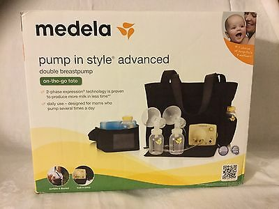 Medela Pump In Style Advanced Double Breastpump with on-the-go-tote, X