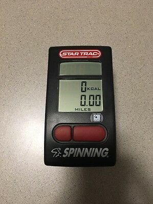 Star Trac Spinning Bike Computer Console - Used
