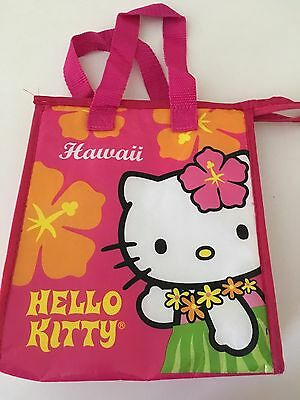 Hello Kitty Insultated Lunch Bag With Zipper