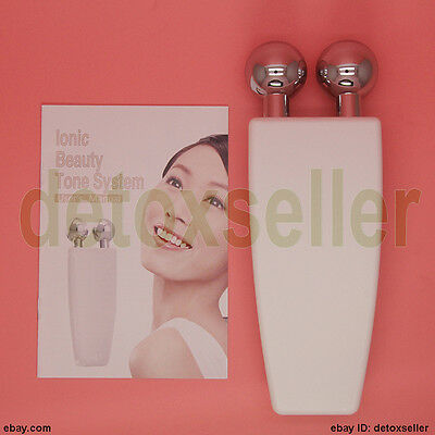 2016 Microcurrent Facial Neck Toning Device Reduce Lines Wrinkles Skin Toner