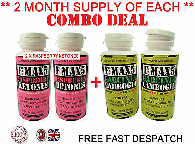 Strongest Legal Raspberry Ketones Slimming Detox Combo Weight Loss Diet Pills 05